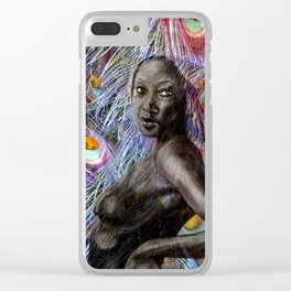 AFRICAN SOUL Clear iPhone Case