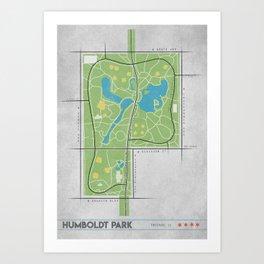 Parks of Chicago: Humboldt Park Art Print