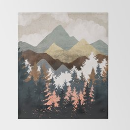 Forest View Throw Blanket