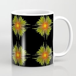 The Fireflower Swirl (Pattern) Coffee Mug
