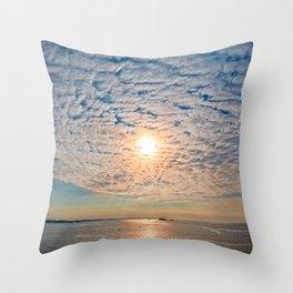 Saint-Malo Sunset Throw Pillow