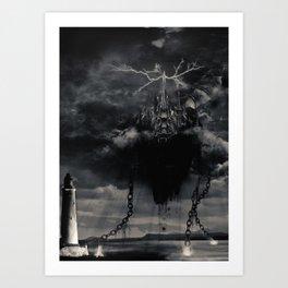 Final Fantasy VIII - Ultimecia's Castle Art Print