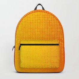 Yellorange Dots Backpack