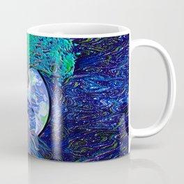 Tree of Life Yin Yang Earth Space Coffee Mug