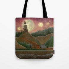 Night landscape Tote Bag