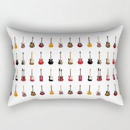 Guitar Icons No1 Rectangular Pillow
