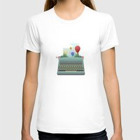 write T-shirts featuring Write your story by Moremo