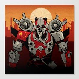 Turbine Panda - CrowdStrike Adversary Canvas Print