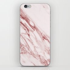 Marble Pattern - Pink Marble Swirl Texture iPhone & iPod Skin