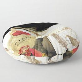 Paris Eu de parfum, Heels & Lipstick Floor Pillow