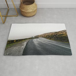 Misty Lonely Road Rug