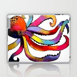 DIP DYED OCTOPUS Laptop & iPad Skin