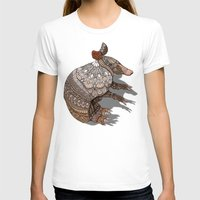 ornate T-shirts featuring Ornate Armadillo by ArtLovePassion