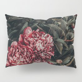 Red Peonies Pillow Sham