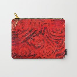 Caged fire Carry-All Pouch