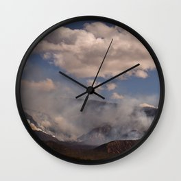 Cedar City Forest Fire - I Wall Clock