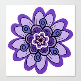 Flower 04 Canvas Print