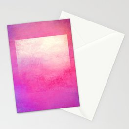 Square Composition I Stationery Cards