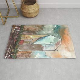 The Fountain Place Rug