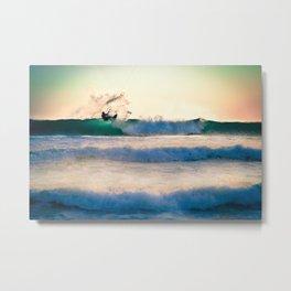Kite surfing II Metal Print