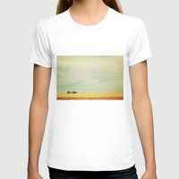 farm T-shirts featuring Farm Polaroid by Kurt Rahn