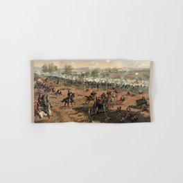 Civil War Battle of Gettysburg by Thure de Thulstrup (1887) Hand & Bath Towel