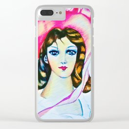 Pinkie remix Clear iPhone Case