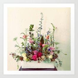 Flowersplosion Art Print
