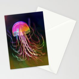 Jellyfish Smell of Summer Stationery Cards