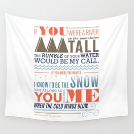 Large – All I Want Is You Wall Tapestry