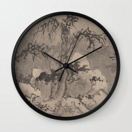 Jiang Song - Winter Landscape Wall Clock