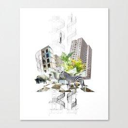 ZEB Canvas Print