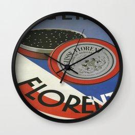 Vintage poster - Reglisse Florent Wall Clock