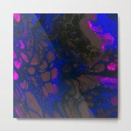 Neon Galaxies Metal Print