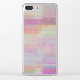 Abstract Geometrie No. 20 Clear iPhone Case