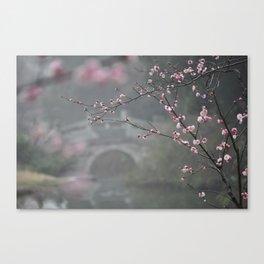 Plum Blossom Festival Canvas Print