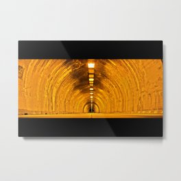 Tunnel Vision Wide Metal Print