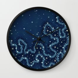 Marianas Trench Galaxy Wall Clock