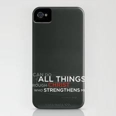 Philippians 4:13 iPhone (4, 4s) Slim Case