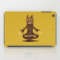 jedi iPad Cases featuring Jedi cat by Toms Tomsons