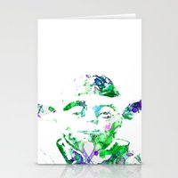 yoda Stationery Cards featuring Yoda by NKlein Design