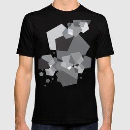 Grayish - Abstract #society6 #decor #buyart T-shirt