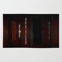 Nevermore Builders: Cask of Amontillado Trump-Wall Advert Rug