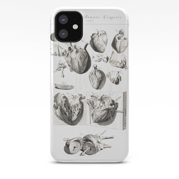 Vintage Anatomy Print iPhone 11 case