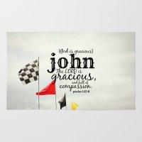 john snow Area & Throw Rugs featuring John by KimberosePhotography
