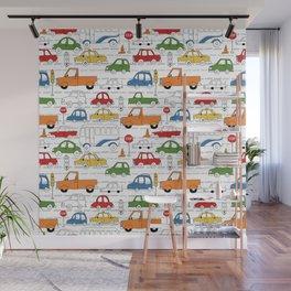 Busy Traffic Pattern Wall Mural