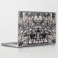 rorschach Laptop & iPad Skins featuring Rorschach Splash  by Liza Q.