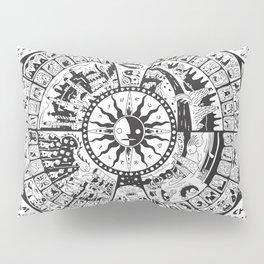 Calendar of Mysterious World Pillow Sham