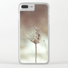 All was calm Clear iPhone Case