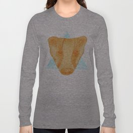 Native Aztec Badger Long Sleeve T-shirt